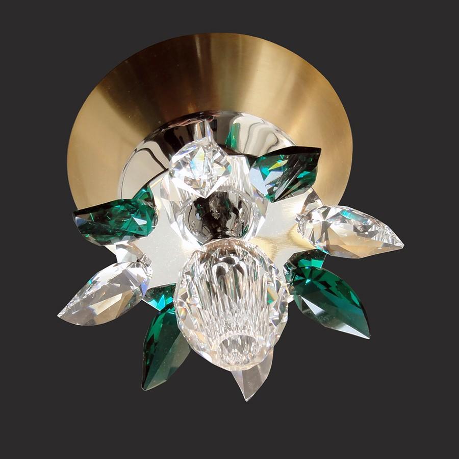 Handmade Ceiling Light Fixture Nufaro Swarovski Crystals