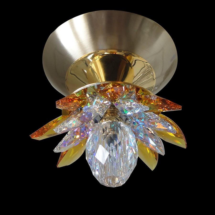 Handmade Ceiling Light Fixture Nufaro 2 Swarovski Crystal