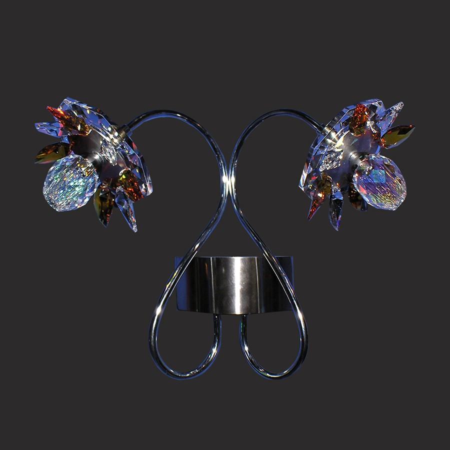 wall fixture luminaire nufaro1 swarovski crystals 53534 6922 04. Black Bedroom Furniture Sets. Home Design Ideas