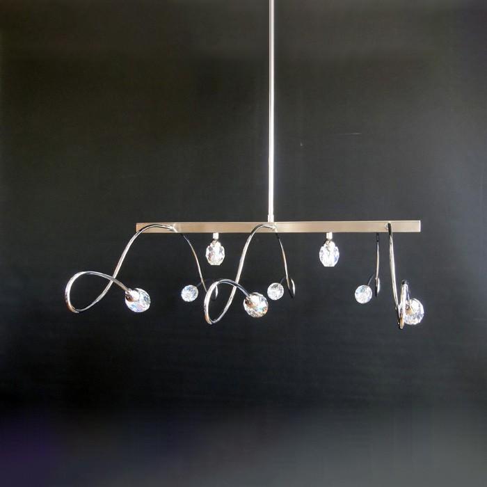Handmade Pendant Light Fixture Acc Swarovski Crystal
