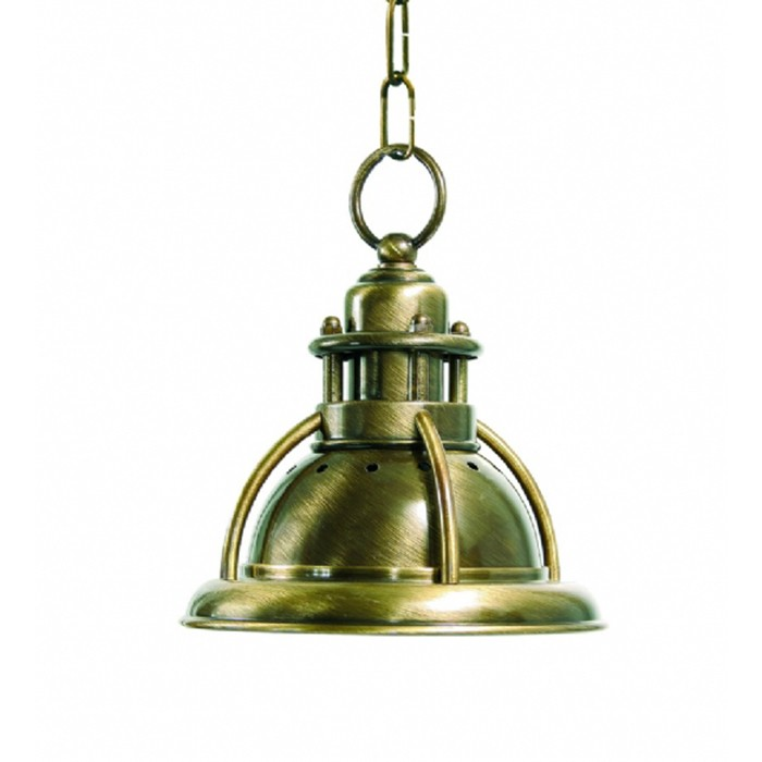 M2 1272a Country Style Solid Brass Pendant Light Fixture