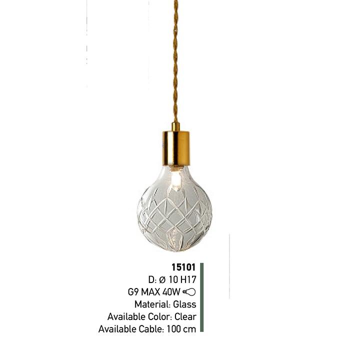 Single Lamp Pendant Light Fixture Z54 15101