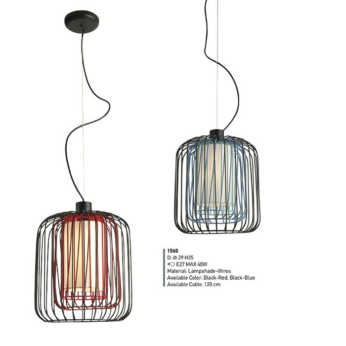 Single Lamp Pendant Light Fixture Z54 1560