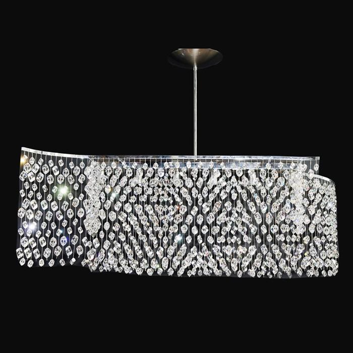pendant fixture chandelier curtain swarovski crystals 30229 0910 00. Black Bedroom Furniture Sets. Home Design Ideas