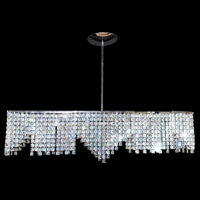 pendant fixture chandelier zic n swarovski crystals 30230 0906 02. Black Bedroom Furniture Sets. Home Design Ideas
