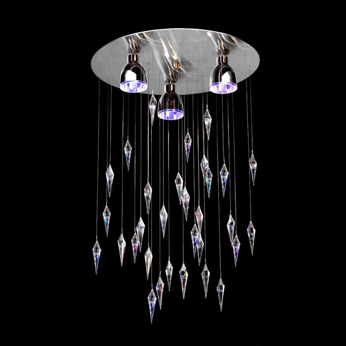 handmade ceiling light fixture crist color swarovski crystal 35357 0663 02. Black Bedroom Furniture Sets. Home Design Ideas