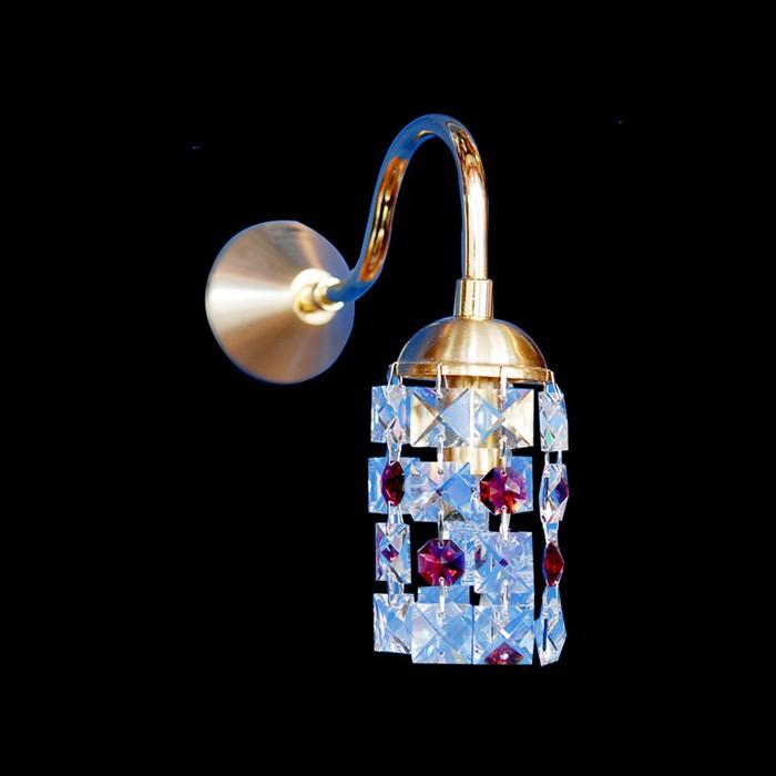 Handmade Wall Light Fixtures : Handmade wall light fixture swarovski crystals zic