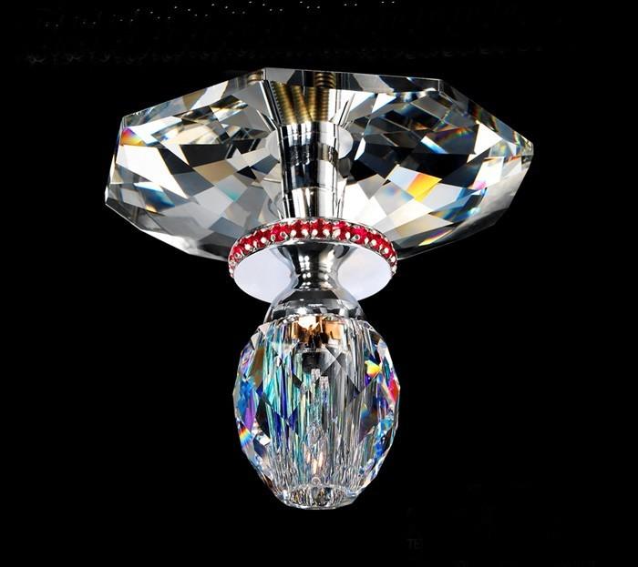 Recessed wall spotlight Swarovski crystal 57155-0921-07