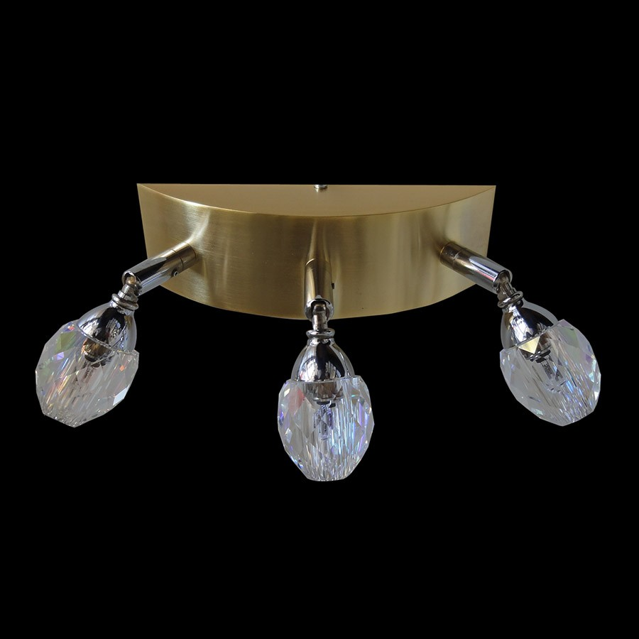 wall fixture luminaire acc swarovski crystals 80191 2963 22. Black Bedroom Furniture Sets. Home Design Ideas
