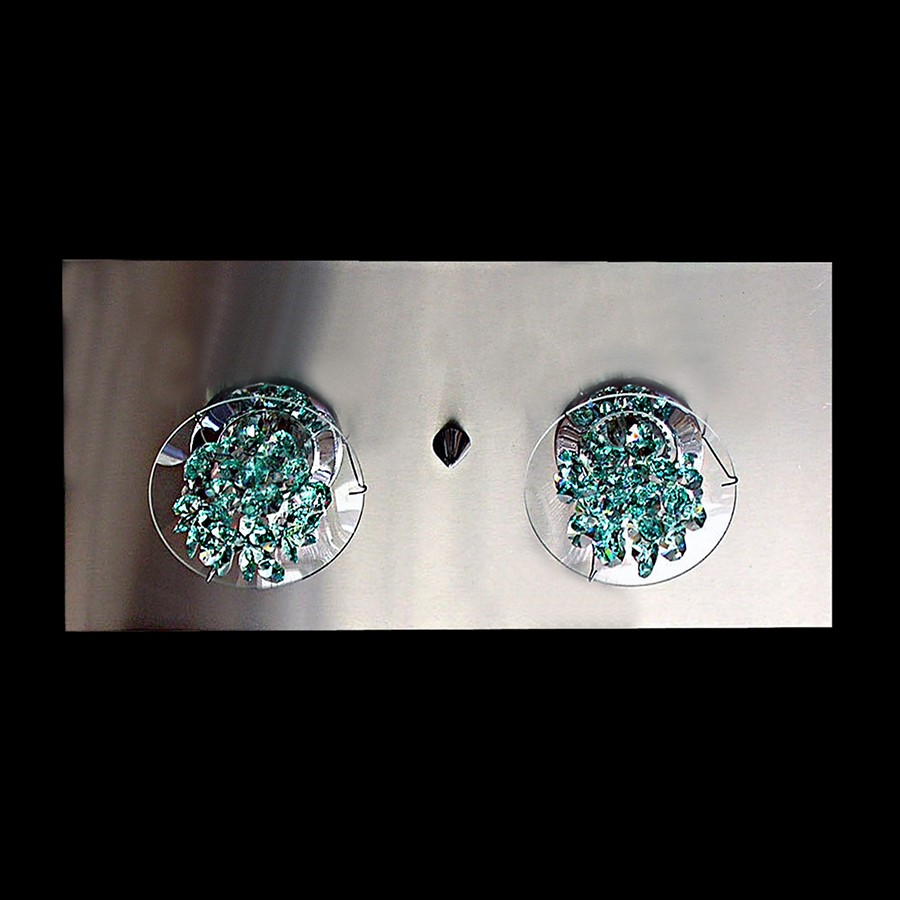ceiling light fixture ice swarovski crystals 80606 6902 66. Black Bedroom Furniture Sets. Home Design Ideas